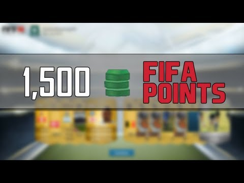 FIFA 14 Ultimate Team | 1,500 FIFA Points Pack Opening!!! ( 10 x Gold Premium)