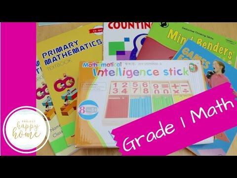 First Grade Homeschool Math Curriculum || Singapore Math, Kumon, & More!