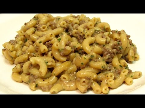 Homemade Hamburger Helper - How to make Hamburger Helper - Recipe