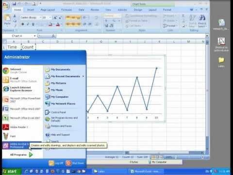 Adding Excel Charts to LaTeX Document