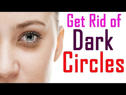 HOW TO GET RID OF DARK CIRCLES [ DIY EYE PATCHES