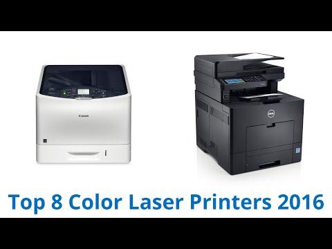 8 Best Color Laser Printers 2016