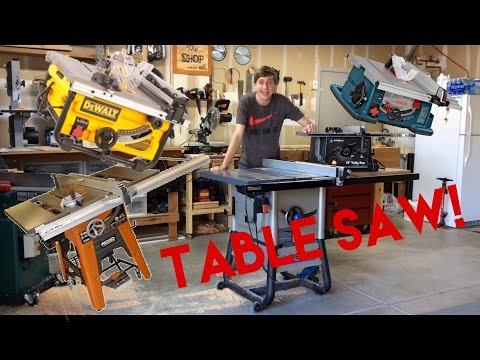 Which Table Saw Should You Buy?   Let's Talk Tools!