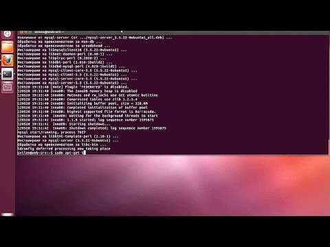 install apache,php and phpMyAdmin on Ubuntu 12 04 through command line
