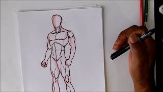 Download How To Draw The Male Body Oh So SIMPLE Video