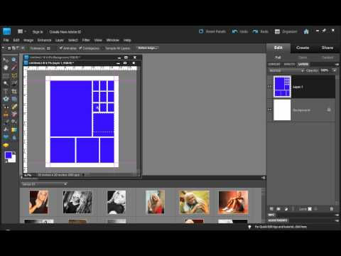 Photoshop Elements - Photo Collage Technique