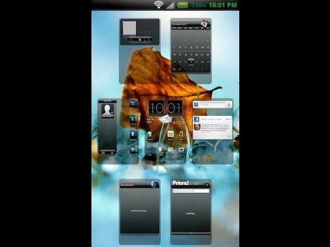 [ROM]Classic ROM Flashed on HTC Evo 4G