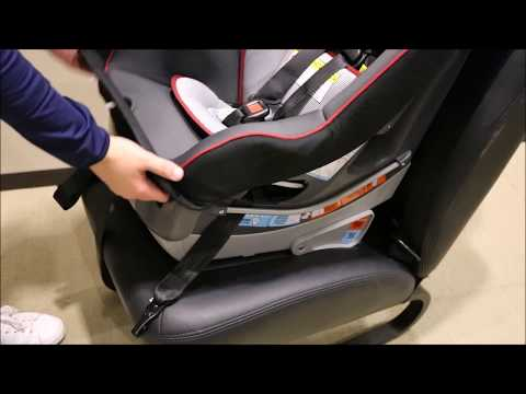 Moving LATCH Strap on Graco® Contender™ 65