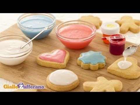 Glace icing - cooking tutorial