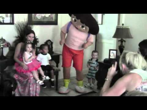 Dora Sings Happy Birthday to Kamryn!
