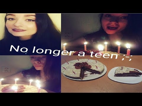 Last day as a teen/ I'm 20 now - Vlog