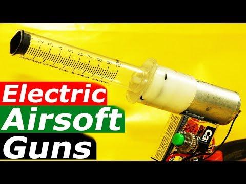 How to Make Powerful Airsoft Gun Using Mini Electric Air Pump