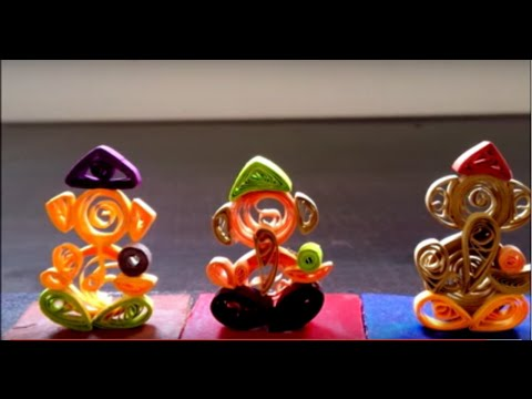 How To: Paper Quilled Ganpati