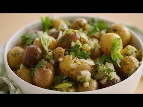 Fresh and Herby Potato Salad- Everyday Food with Sarah Carey