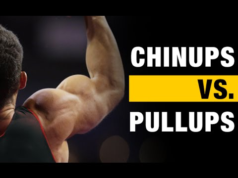Pullups vs Chinups:  The BIG Differences!!