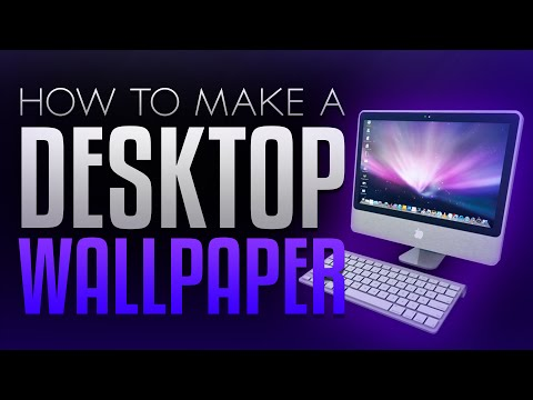 How to Make a Desktop Wallpaper in Photoshop CS6/CC! (2015/2016)