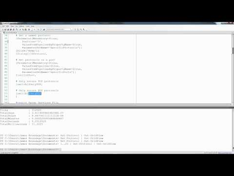 Writing PowerShell Functions - Get-Protocol Part 7 - Bringing it All Together with Wherestacking