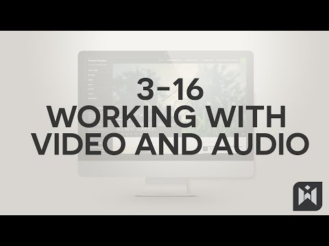 WordPress for Beginners 2015 Tutorial Series | Chapter 3-16: Working with Video and Audio