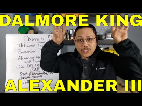 VIDEO 12 THE DALMORE KING ALEXANDER III REVIEW