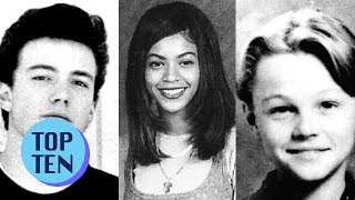 Top 10 Celebrities Before They Were Famous