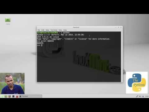 লিনাক্স এ পাইথন ইন্সটল/সেটআপ করা - How to Install Python on Linux, Bangla Tutorial