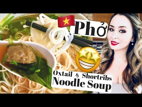 EASY Vietnamese Beef Noodle Soup - Pho Recipe