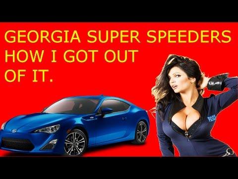 Georgia Super Speeders How I Got Out Of A Speeding Ticket / Reduced Story Time DWB PT 1
