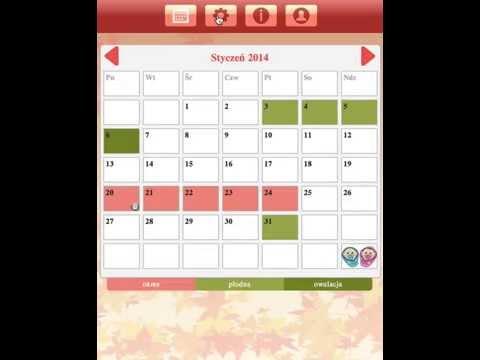 Kalendarz Cyklu Miesiączkowego