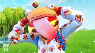 ONESIE TURNS INTO A DURR BURGER?! (A Fortnite Short Film)