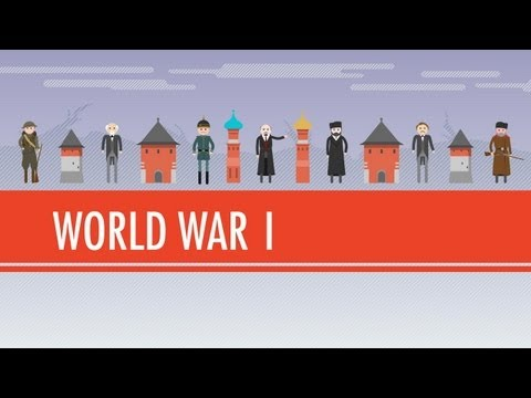 Archdukes, Cynicism, and World War I: Crash Course World History #36