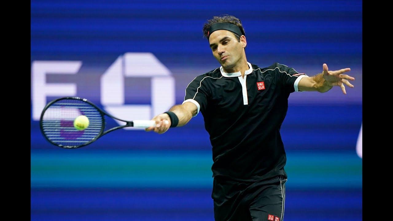 Roger Federer vs Grigor Dimitrov Extended Highlights   US Open 2019 QF