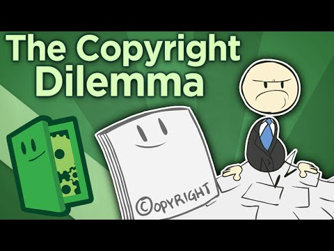 The Copyright Dilemma - On Trademarks, Copyrights, and Patents - Extra Credits