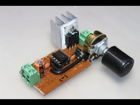 How to Make PWM DC Motor Speed Controller
