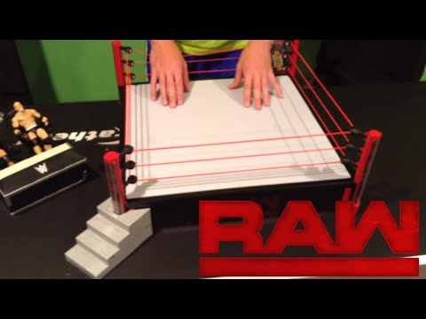 WWE RAW Main Event Ring