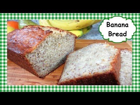 🍌 How to Make Super Moist BANANA BREAD ~ Easy Homemade Banana Bread Recipe