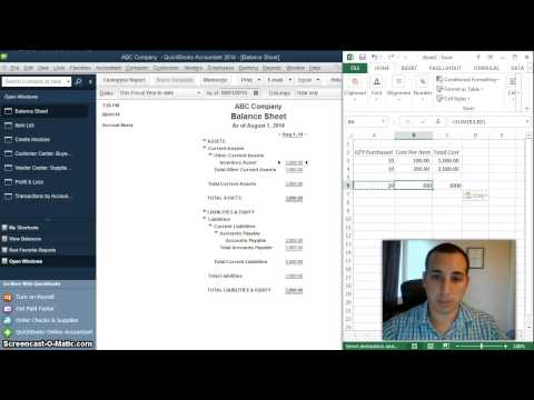 How is Cost of Goods Sold Calculated in QuickBooks Desktop using Perpetual Inventory
