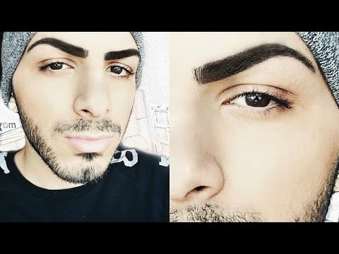 How To Grow Your Eyebrows Over Night | Salih's World