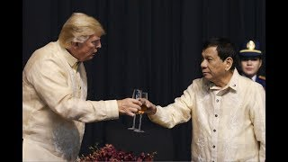 Duterte sings love song for Trump: