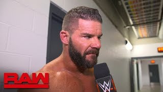 Bobby Roode admits he underestimated Elias: Raw Exclusive, April 23, 2018