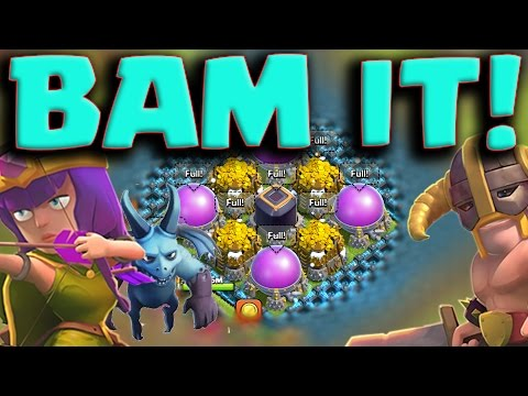 Clash of Clans: Most Efficient Army Guide: BAM - Max Your Base Fast!
