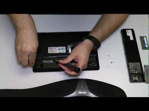 ASUS EEE Netbook Hard Drive Removal Upgrade