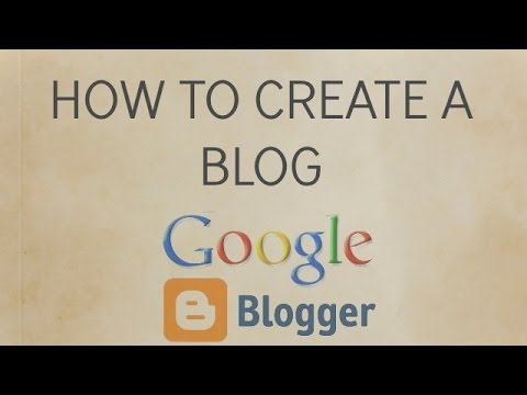 How to create a blog on Android phone