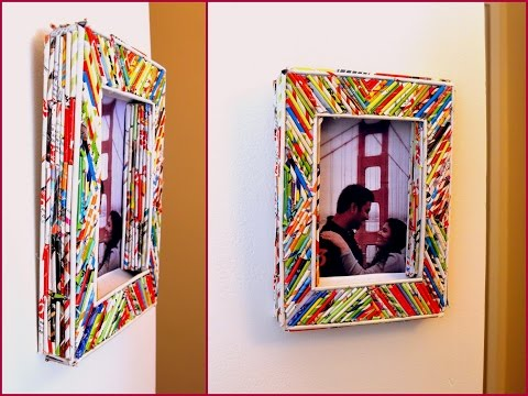 How To Do Your Own Custom Framing Magazine Cover Picture Frame