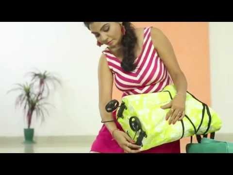Lightweight Shopping Trolley Wheel Folding Travel Luggage Bag