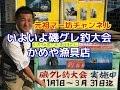 【元祖マー坊チャンネルNo21】 磯グレ釣大会、かめや漁具店編