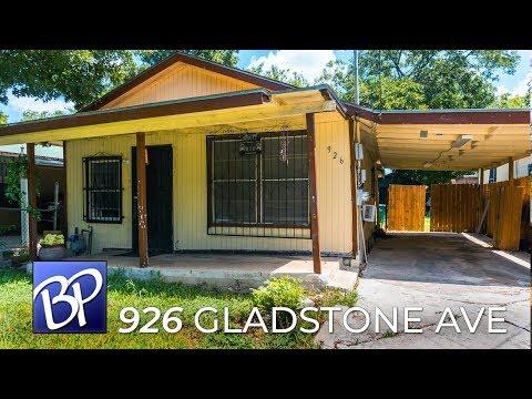 For Sale: 926 Gladstone Ave, San Antonio, Texas 78225
