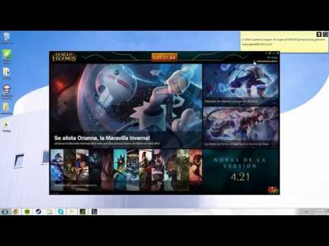 Change Language in any region League of Legends