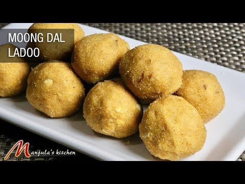Moong Dal Ladoo (easy to make delicious sweets at home) Recipe by Manjula