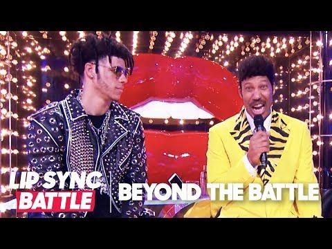 LaVar Ball & Lonzo Ball Go Beyond the Battle | Lip Sync Battle