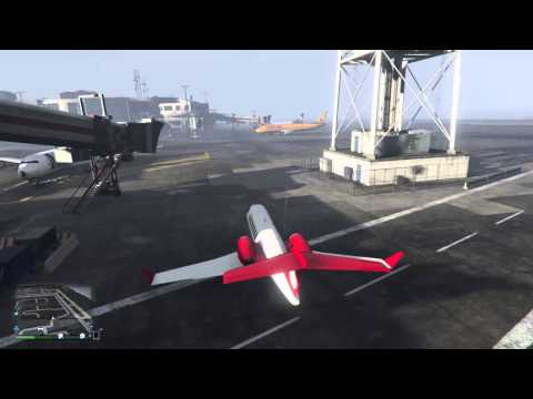 How To Remove Rear Tail Wing On Jet GTAV